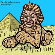 エジプトムバラク政権の危機