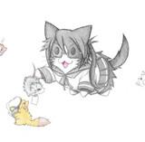 提督達と天霧猫