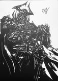 【切り絵】fgo 山の翁 キングハサン