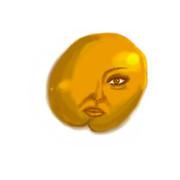 ケツ顎気味の黄身