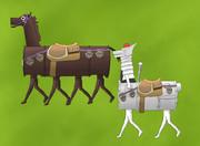 ポンコツエレジーと姫様の愛馬
