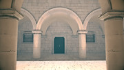 【フリー素材】アニメ風の宮殿・教会・監獄内部 その7