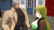 【Fate/MMD】奇妙な邂逅【ジョジョMMD】