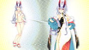 【MMD】巴御前〔チャイナドレス〕【モデル配布】