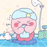 お風呂上りのカービィ