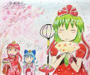 """今日は幻想郷の""""雛""""祭り♪"""