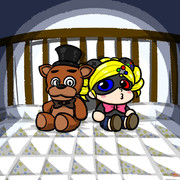 『Five Nights at Freddy's 4』OPイラスト