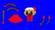 千賀式(?)吸血鬼型宇宙怪獣