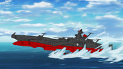 アリゾナ級ヤマト 発進(水上スキーコラ)