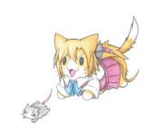 秋雲猫とネズミ提督