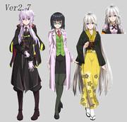 立ち絵Ver2.7の報告