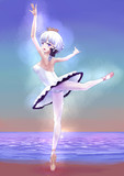 光の中で踊るイラストリアスさん