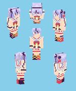 【Minecraft】鳴花ミコト:トーク衣装【3/11更新】