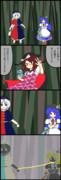菫子、敷きになる