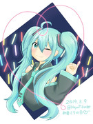 HatsuneMiku is forever!ミクの日2019!