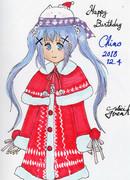 クリスマス・スタイル チノちゃん