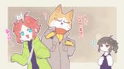 【ゆるふわ卓】萌え袖トリオ