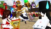 第11回東方ニコ童祭カウントダウン お祭り準備中 ヨシ!