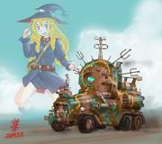地球連邦軍戦略指揮装甲車型MS「後方の米眼」