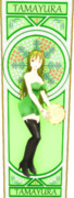 【Fate/MMD】玉響、六導玲霞のカード2(カラー)