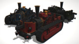 蒸気戦車ウィリーver2.0【MMDモデル配布あり】