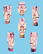【Minecraft】鳴花ヒメ:トーク衣装