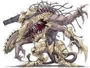 フォロワーの好きな要素を詰め込んだ創作獣を描くやつ その5