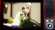 アナログテレビ過去作放映・ベッドでダブルグラビア【Fate/MMD】【MMDDOD】