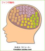 フィンの脳内