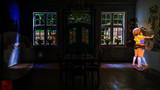 謎の壁画がある空き家を探索する秘封俱楽部