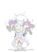 【擬人化注意】合体ガールズ