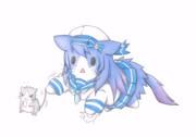 松輪猫とネズミ提督