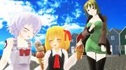 【Fate/MMD】黒殺親子とるみゃ【東方MMD】