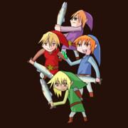 UDK姉妹でZLDの伝説 4つの剣