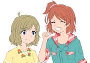 桃子とショートヘア―環