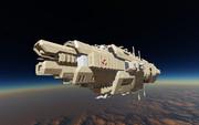 大型宇宙戦艦