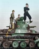 知波單學園 男子戰車道部「演習觀測班」