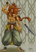 ライオン戦士