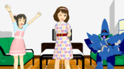 【MMDモデル配布】長富蓮実。