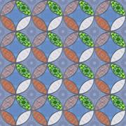 パターン 和柄 七宝5