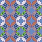 パターン 和柄 七宝6