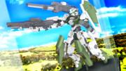 【MMDマイナーモデル使用作】砲撃リベルタフィギュア3!