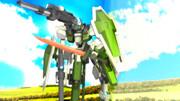 【MMDマイナーモデル使用作】砲撃リベルタ、近接戦でシールドを使う