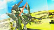 【MMDマイナーモデル使用作】砲撃リベルタの大盾と剣で突進!