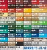 【配布】GIMP用国鉄制定色カラーパレット