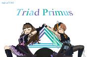 トライアドプリムスのポーズ