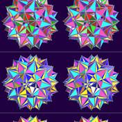 大 二 重 変形 二 重 斜 方 十 二 面体