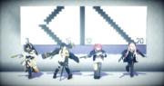 【Minecraft】観覧車ModでAR小隊の人形をつくったよ