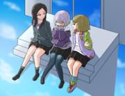蘭萌とアカネと亜子