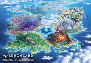 [仕事絵]【ZENONZARD】全体マップイラスト